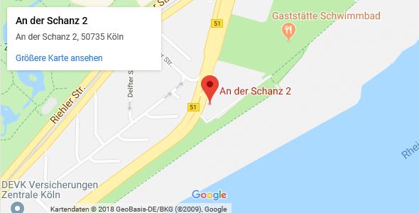 Maps LIDMED Ästhetische medizinische Lidchirurgie Köln